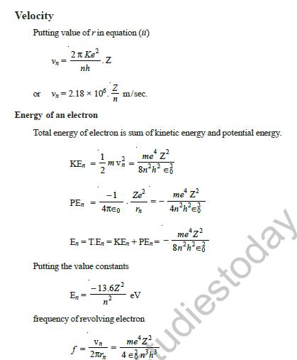 CBSE Class 12 Physics Modern Physics Exam Notes