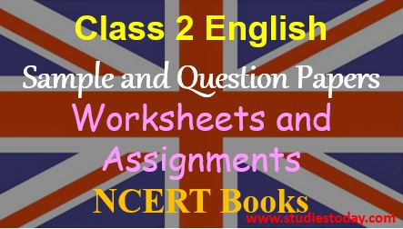 class_2_english_sample_paper_question_ncert_books_worksheet