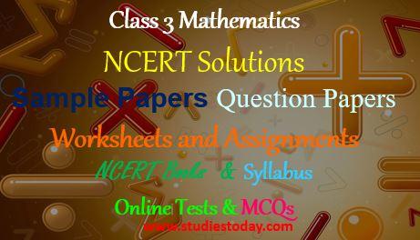 CBSE Class 3 Maths Worksheets | CBSE Class III Mathematics