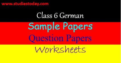 class_6_german_sample_papers_worksheets