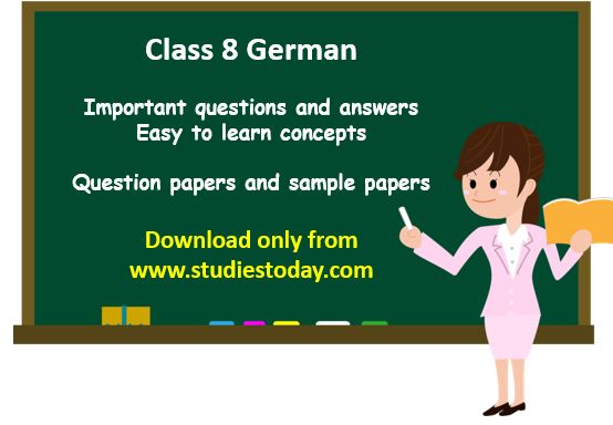 class_8_german_questions_syllabus